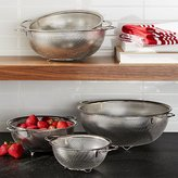 Crate & Barrel 5-Piece Mesh Colander Set