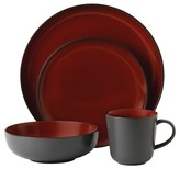 Gordon Ramsay Bread Street Stoneware 4-Pc. Dining Set Black Cherry