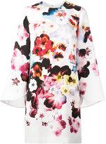 Elie Saab floral print dress - women - Silk/Polyester - 40