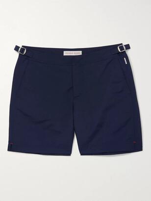 Orlebar Brown Bulldog Mid-Length Swim Shorts - Men - Blue