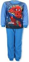 Spiderman Marvel Boys Round Neck Fleece Pyjama 3-8 Years