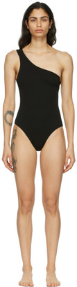 Haight Black Crepe Organic One-Piece Swimsuit