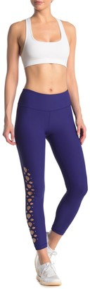 90 Degree By Reflex Laser Cut High Waist Leggings