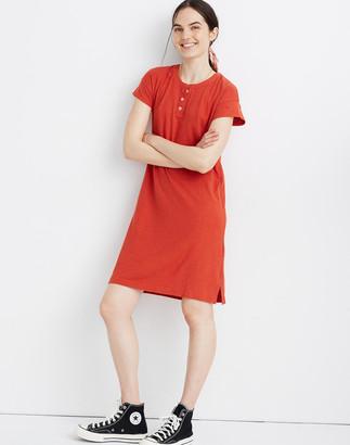 Madewell Henley Tee Dress