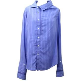 Palmer Harding Blue Cotton Top for Women