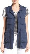 Petite Women's Caslon Soft Utility Vest
