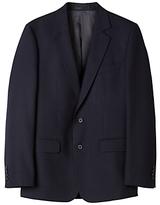 Aquascutum Hopsack Clothier Finish Wool Suit Jacket, Navy