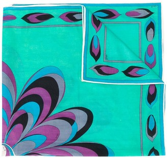 Emilio Pucci Pre Owned 1960s Abstract Print Scarf