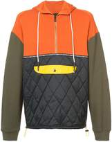 Mostly Heard Rarely Seen quilted hoodie