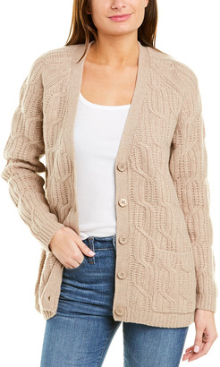Magaschoni Wool & Cashmere-Blend Cardigan