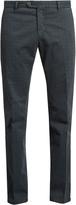 J.w.brine J.W. BRINE James geometric-print slim-leg chino trousers