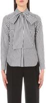 Osman Sanaz striped cotton shirt