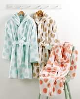 Martha Stewart Collection CLOSEOUT! Martha Stewart Collection Dot Robe