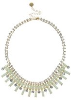 Johnny Loves Rosie Cream and Gold Statement Bar Necklace of Length 45-54cm