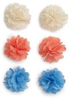 Capelli of New York 3-Pack Floral Barrettes