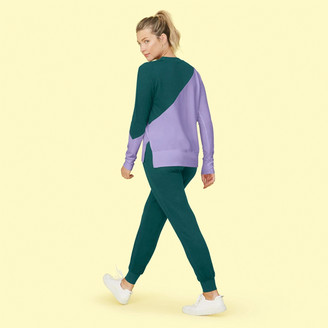 Summersalt The Softest French Terry Jogger - Seaweed & Wisteria