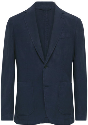 NN07 Harvey Unstructured Lyocell, Linen And Cotton-Blend Blazer