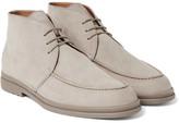 Loro Piana Urban Walk Nubuck Chukka Boots - Gray