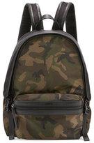 Moncler New Romeo Camouflage Canvas & Nylon Backpack