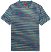 Missoni - Slim-fit Space-dyed Knitted Cotton T-shirt