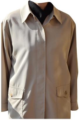 Max Mara Weekend Ecru Trench Coat for Women Vintage