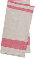 Found Object S/4 Chambery Napkins, Red/Natural