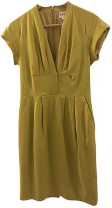 Reiss Green Cotton Dress for Women