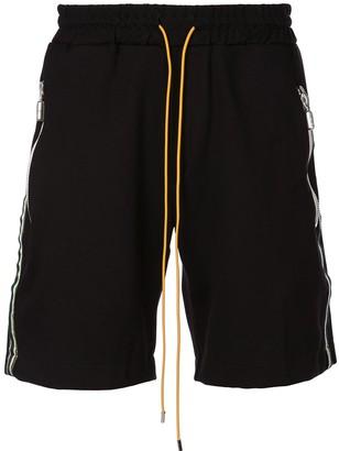Rhude Side-Stripe Track Shorts