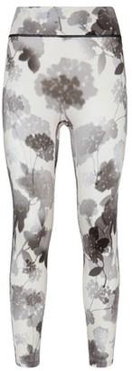 Fendi Grey Tech Fabric Leggings