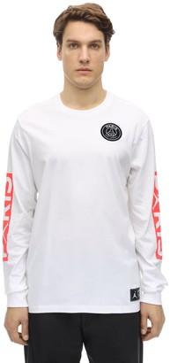 Nike Psg L/S Cotton T-Shirt
