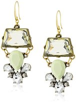 David Aubrey Hadrien Crystal Drop Earrings