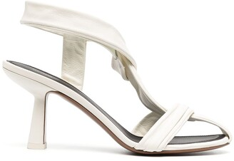 Neous Chunky Heeled Leather Sandals