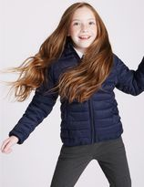 Marks and Spencer Lightweight Padded Coat With StormwearTM (3-16 Years)