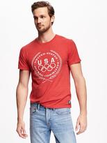 "Old Navy ""United States Olympic Committee"" Graphic Tee for Men"