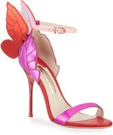Sophia Webster Chiara Metallic Butterfly Sandals