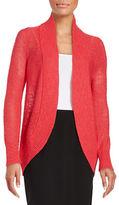 Calvin Klein Textured Open-Front Sweater