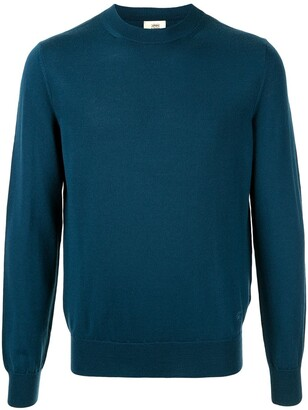Kent & Curwen Embroidered Logo Crew-Neck Pullover
