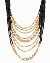 Charming charlie Two-Tone Swag Necklace