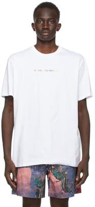 Double Rainbouu White Logo T-Shirt