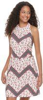 Candies Juniors' Candie's® Open Back Halter Dress