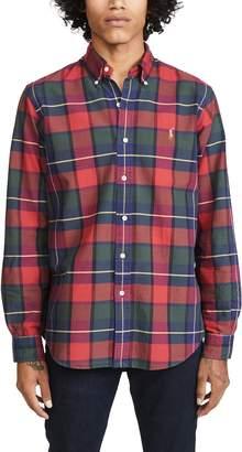 Polo Ralph Lauren Plaid Oxford Button Down Shirt