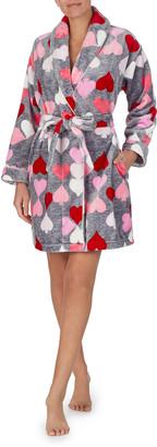 Kate Spade Heart Chenille Robe