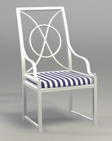 The Well Appointed House Indoor/Outdoor Palermo Armchair-Available in a Variety of Finishes