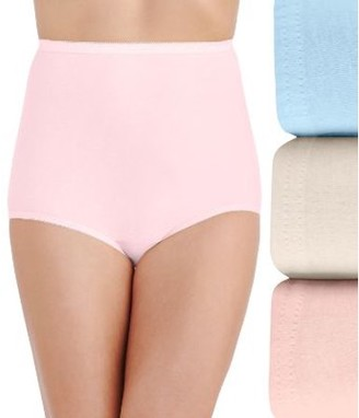 Vanity Fair Womens Perfectly Yours Cotton Brief 3-Pack Style-15320