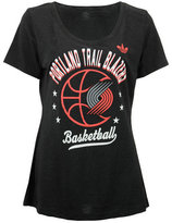 adidas Women's Portland Trail Blazers Basketball Scoop T-Shirt