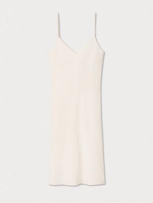 Diane von Furstenberg Midi Silk Crepe de Chine Slip