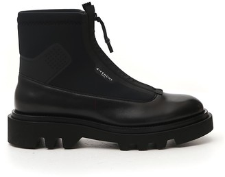 Givenchy Zipped Combat Boots