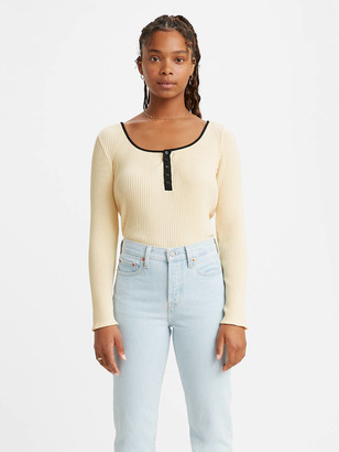 Levi's Brandy Long Sleeve Tee Shirt