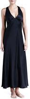 Donna Karan Glamour Long Silk Gown
