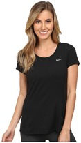 Nike Dry Contour Running Tee Women's Short Sleeve Pullover